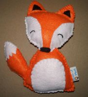 Fox Plushie by kiddomerriweather