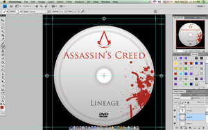 Assassin's Creed DVD Label by gravedesires777