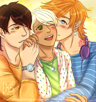 Triple the Love! by KnightingaleSong