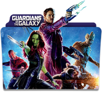 Guardians of the Galaxy Folder Icon by 87ashish