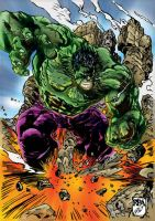 Hulk Smash by richyunspoken