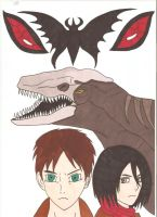 Attack on Titan Godzilla - Devils by Tyrannuss555