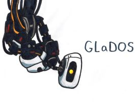 GLaDOS by YouCanDrawIt