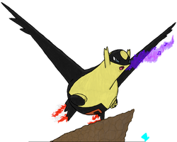 Twitch Plays Pokemon - Ledgeios, Lord of Ledges by MadHatter-Himself