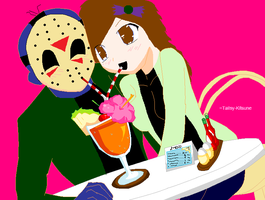 Sam and Jason first date by sam-the-vampire