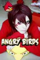 Angry red bird: G Dragon XD by palecardinal