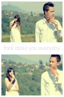 think about you everyday by fusuyoflove