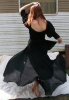 Black Dress Spin Stock 5 by Gracies-Stock