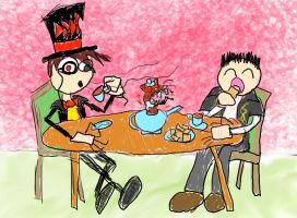 A Lovely Tea Party by twitcher