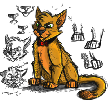 cat sketches by theKatandtheBox