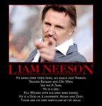 Liam Neeson by MexPirateRed