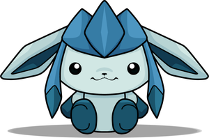 .:Glaceon [Shiny ver.]:. by xHisLittleAngel