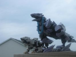 the ultimate X zoids by bladeliger112