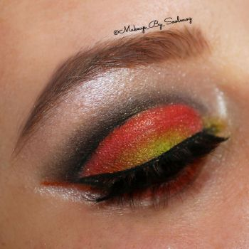 Candy Corn Cut Crease by soolmoz