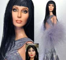 Cher Doll Repaint by noeling