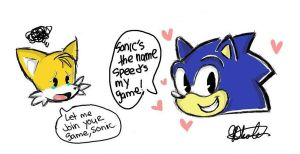 Tails Loves Sonic... by sonicxamy09