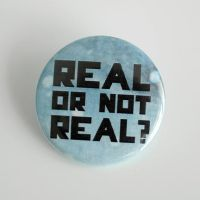 Real or not real? (blue) by MonstersPins