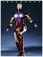 Iron Woman by Crotale