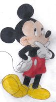 Mickey Mouse by vasqueza93