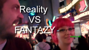 Reality VS FANTASY by gogafetish