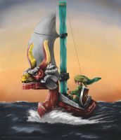 Wind Waker by Reillyington86