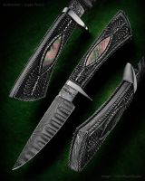 Filigree Hunting Knife by Logan-Pearce