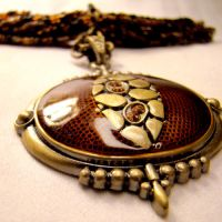 Tribal Belly Dance Necklace by SteamSociety