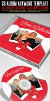 Love Song Collection CD Artwork PSD Template by ShermanJackson