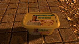 Michael Rosen has his own brand of butter. by xPrEpWnEdx