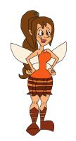 Fawn the Animal Fairy by HunterxColleen