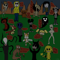 Famous Creepypasta by catz537