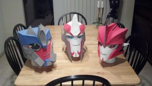 TF Prime Helmhats by Laserbot