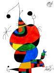 Joan Miro - Tribute by George-B-Art