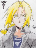 Edward Elric by KevinsDrawings