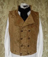 Steampunk-Victorian waistcoat PCW4-10 by JanuaryGuest