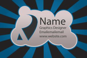 Business Card Design 2 by puffthemagicdragon92