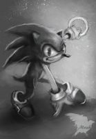 Sonic speed sketch by Mrahart