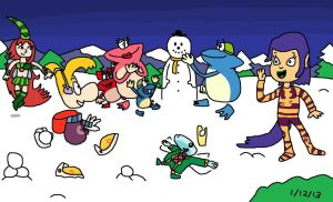 Enjoy Winter Hoildays with Rayman by Mighty355
