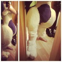 Mewtwo Cosplay WIP by Grethe--B