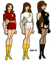 Evolution of Mary Marvel by billiebob72088