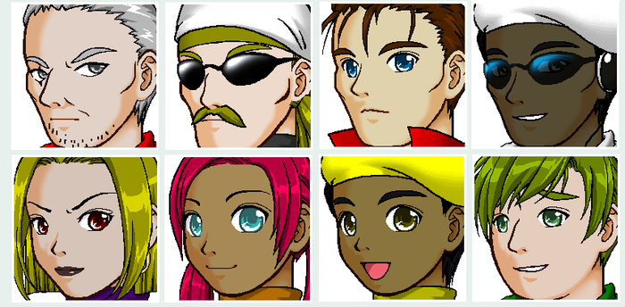 Humanized Transformers Faces by imaphantomfan