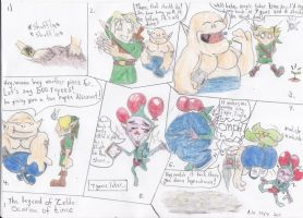 The magic beans of zelda by Humblehistorian