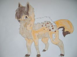 Hyena Wolf Me by clashingclaws