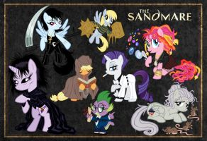 The Sandmare Poster (13x19 version) by tygerbug