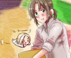 APH:Liet and Poland colored by KometaFaerone