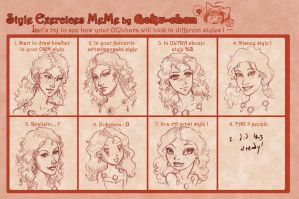 Style Exercise Meme- Rian by temiel