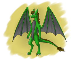 Green Dragon (AT) by Tomek1000