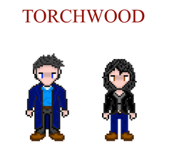Torchwood: Jack and Gwen by Silverhammer37