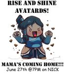 .: LOK: Mama's Coming Home! .: by LittleMissSquiggles