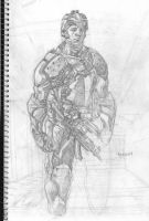 concept soldier unfinished by mccat